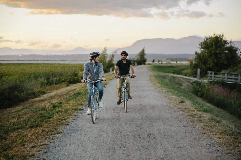 Cyclists In Richmond - Credit Tourism Richmond