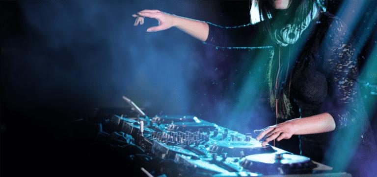 DJ Spinning at Event