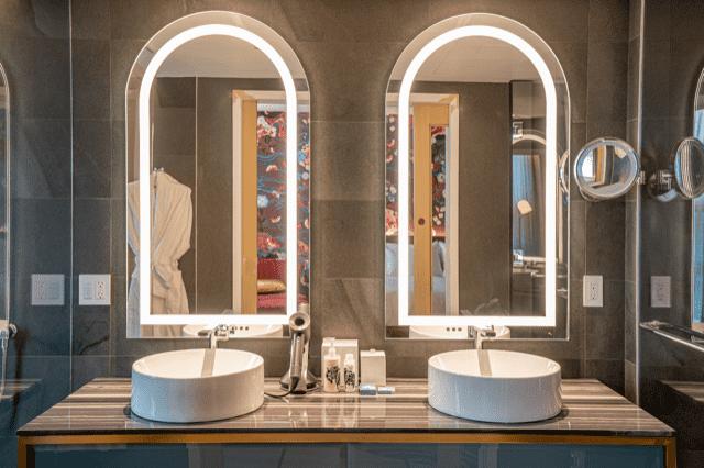 Bathroom Vanity - Versante Hotel