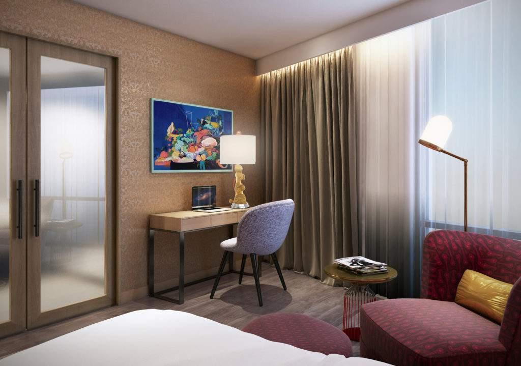 Versante Hotel Suite Rendering