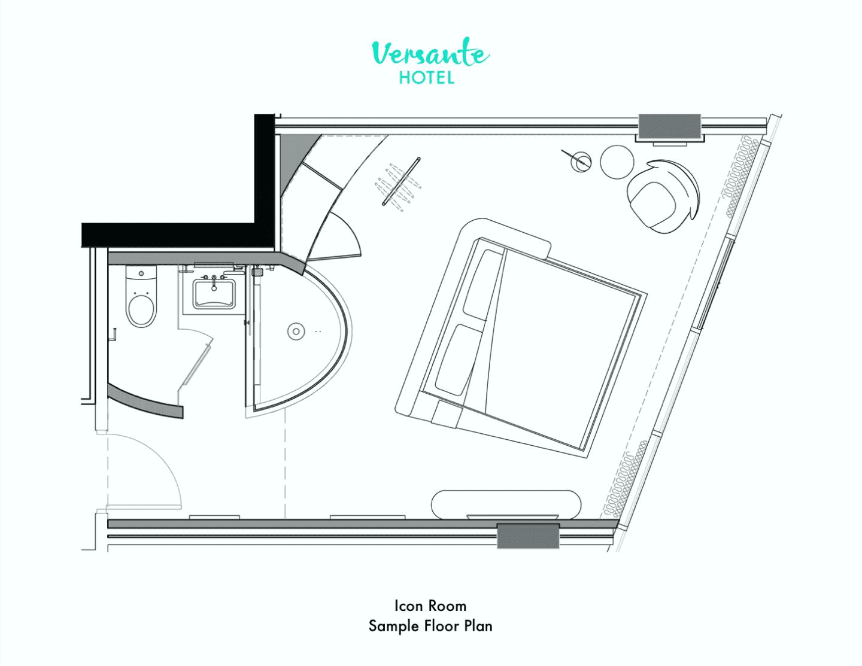 Icon Room Floor Plan