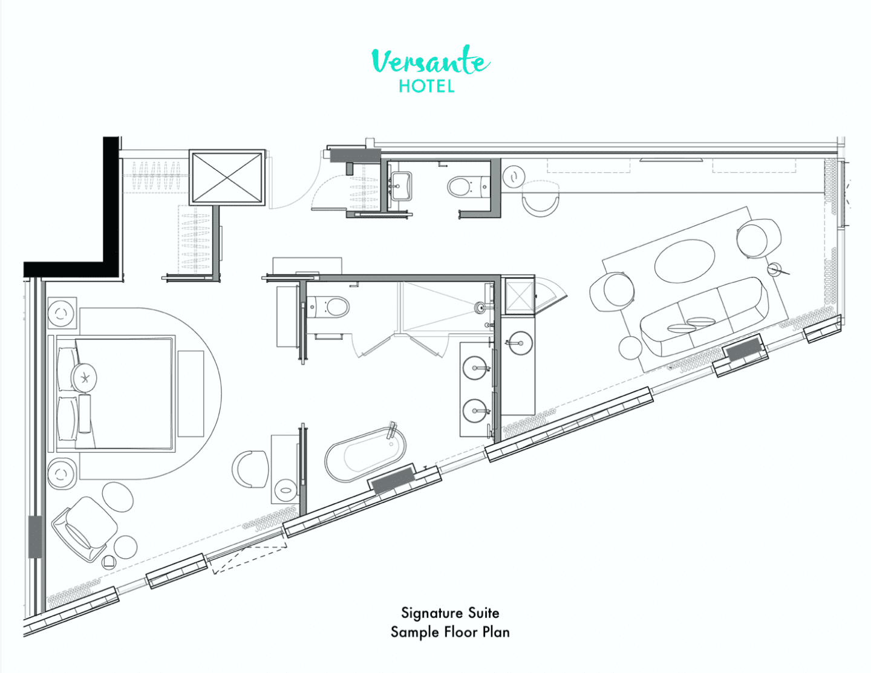 Signature Suite Floor Plan