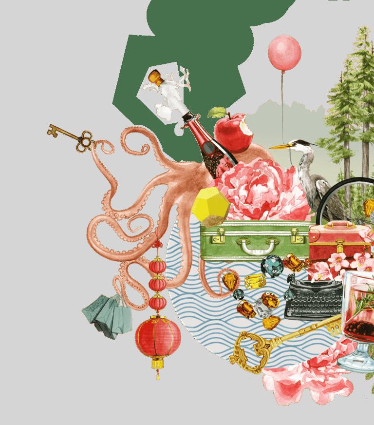 Versante Hotel Illustration