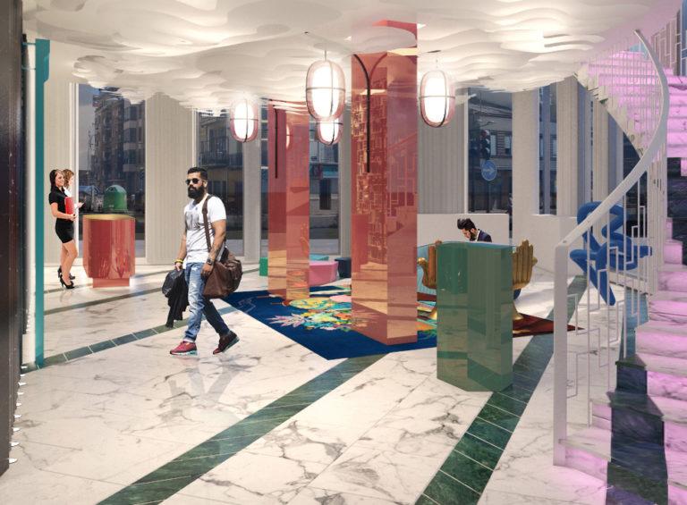 Lobby - Versante Hotel