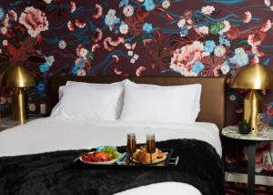 In-Room Dining in Bed