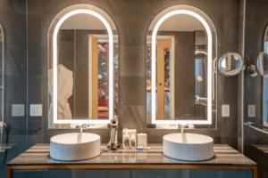 Versante Hotel Guestroom Bathroom