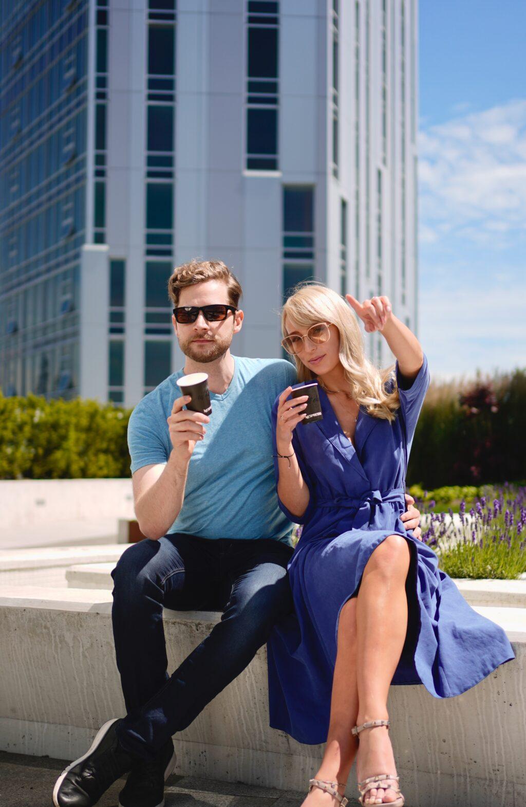 Couple on the Terrace