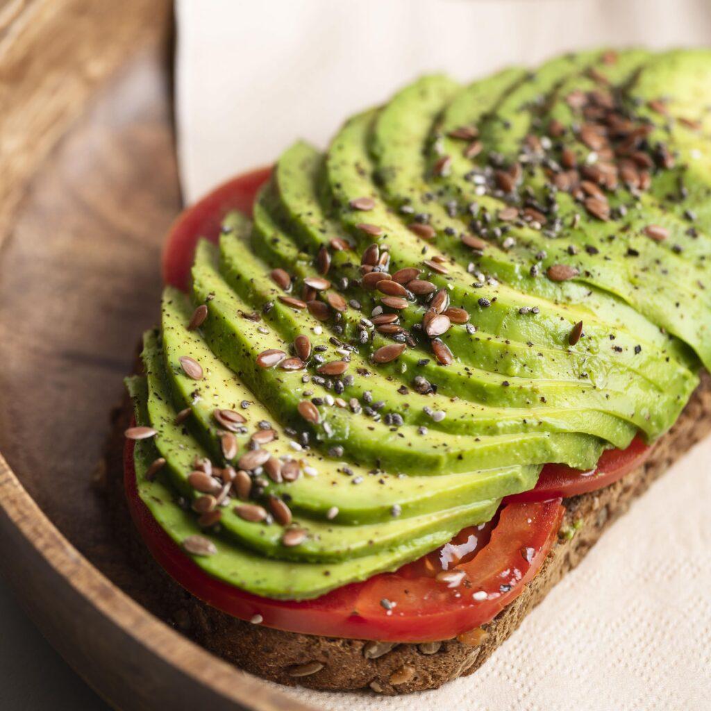 close-up-delicious-avocado-toast-plate